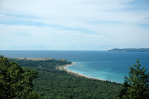 Sleeping Bear Dunes from Alligator Hill Hike